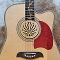 Soundhole cover Sticky Tunes Soundhole Fire