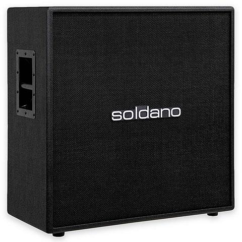 Box E-Gitarre Soldano 412 Straight BK