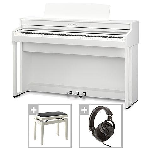 Piano numérique Kawai CA 49 W Set