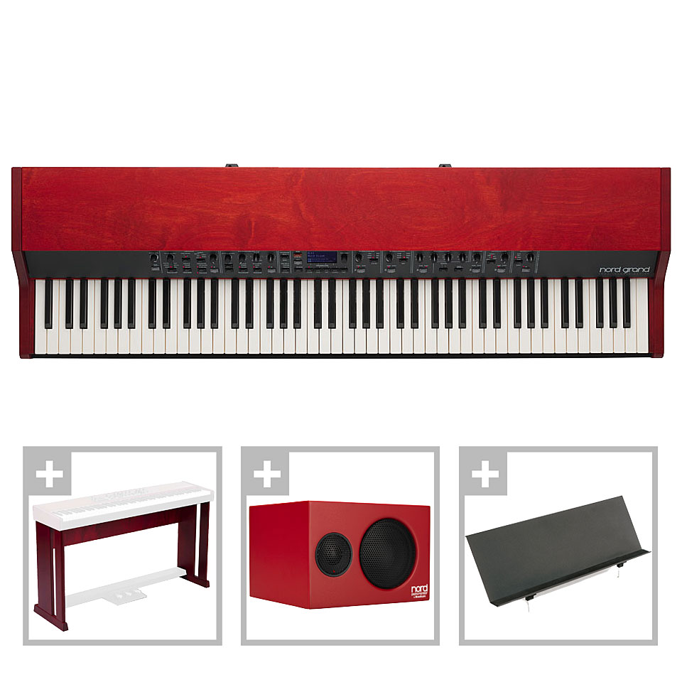 Stagepianos - Clavia Nord Grand Home Set Stagepiano - Onlineshop Musik Produktiv