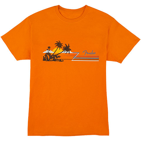 Camiseta manga corta Fender Hang Loose OR M