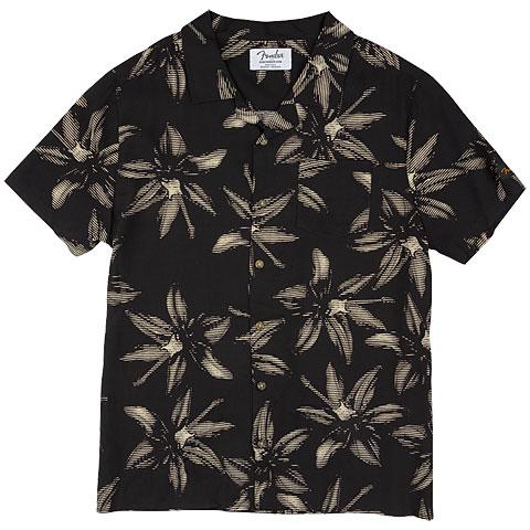 Camiseta manga corta Fender The Norvell Button Up Shirt BLK L