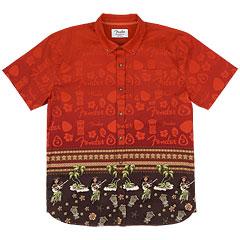 Fender The Hawaiian Button Up Shirt S « T-Shirt