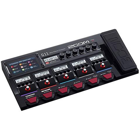 Multi-effets guitare électrique Zoom G11