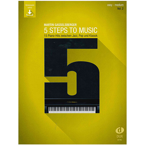 Libro de partituras Dux 5 Steps to Music