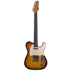 Haar Traditional T aged, 3-Tone Sunburst