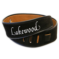 Lakewood Wildleder Black « Guitar Strap