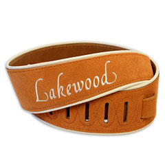 Lakewood Wildleder Brown « Guitar Strap