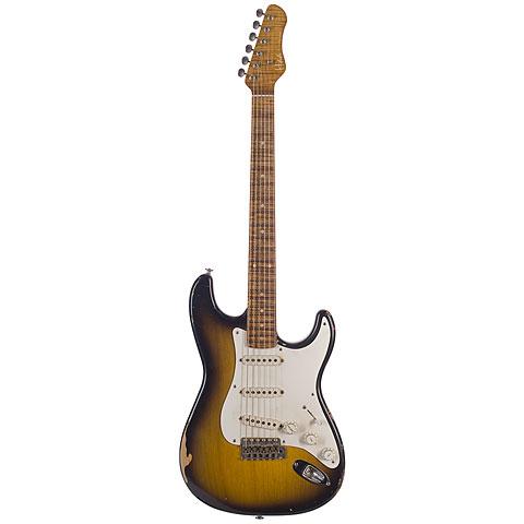 Haar Traditional S aged,2-Tone Sunburst « E-Gitarre