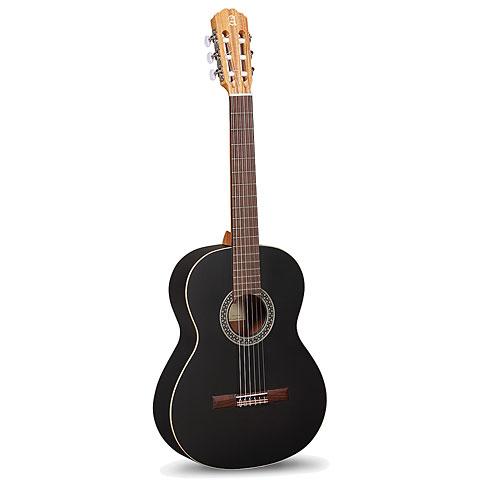 Konzertgitarre Alhambra 1 C Black Satin