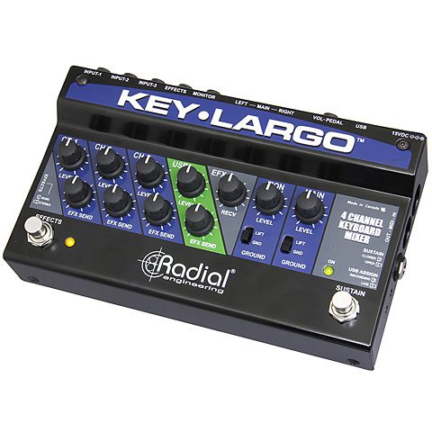 Box DI Radial KEY-LARGO