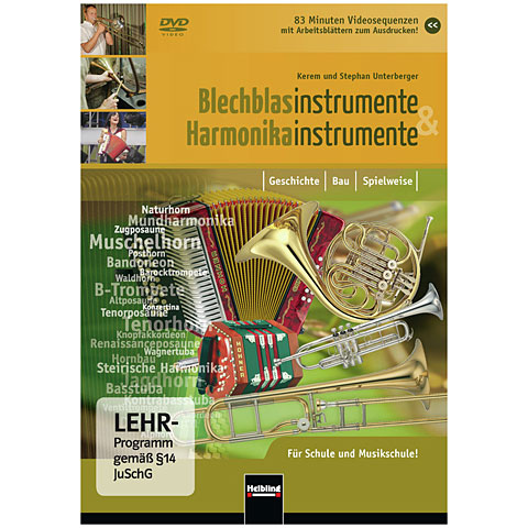 DVD Helbling Blechblasinstrumente & Harmonikainstrumente