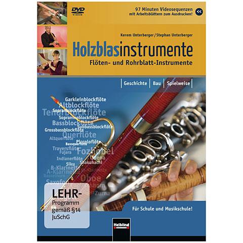 DVD Helbling Holzblasinstrumente - Flöten- und Rohrblatt-Instrumente