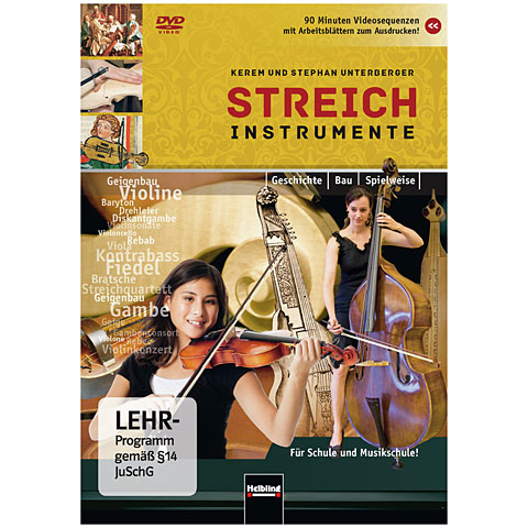 DVD Helbling Streichinstrumente - Geshcichte - Bau - Spielweise