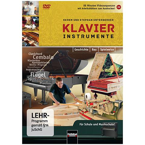 DVD Helbling Klavierinstrumente - Geschichte - Bau - Spielweise