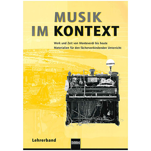 Lehrbuch Helbling Musik im Kontex - Lehrerband