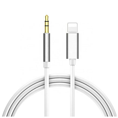 Audiokabel AudioTeknik Lightning Adapter 3,5 mm
