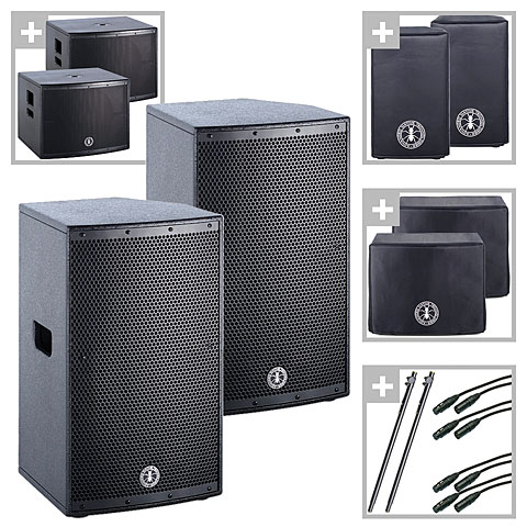 Enceinte active ANT bang your Greenhead PA