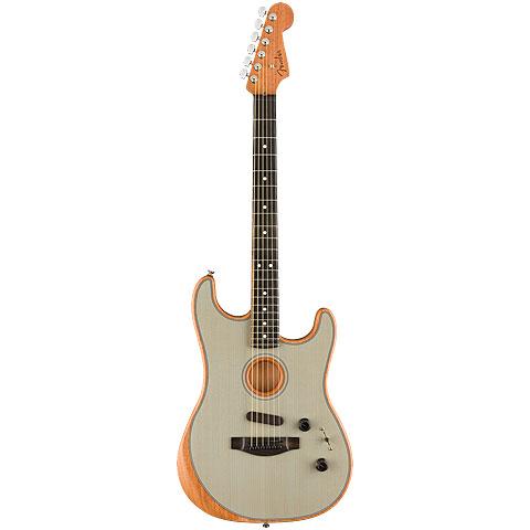 Fender Acoustasonic Strat Transparent Sonic Blue « E-Gitarre