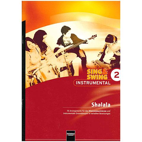 Leerboek Helbling Sing & Swing - Instrumental 2: Shalala