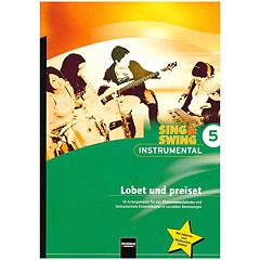 Helbling Sing & Swing - Instrumental 5: Lobet udn preiset « Libros didácticos