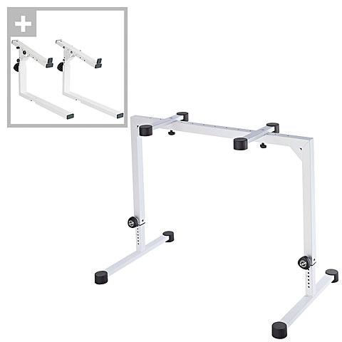 Keyboard Stand K&M 18810 Set White