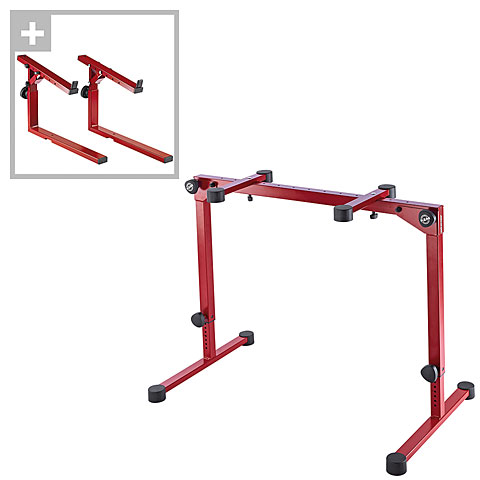 Stand pour clavier K&M 18820 Set Red