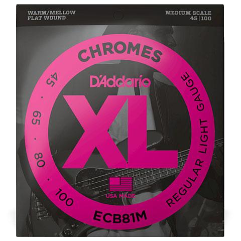 Corde basse électrique D'Addario ECB81M Chromes .045-100