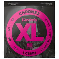 D'Addario ECB81M Chromes .045-100