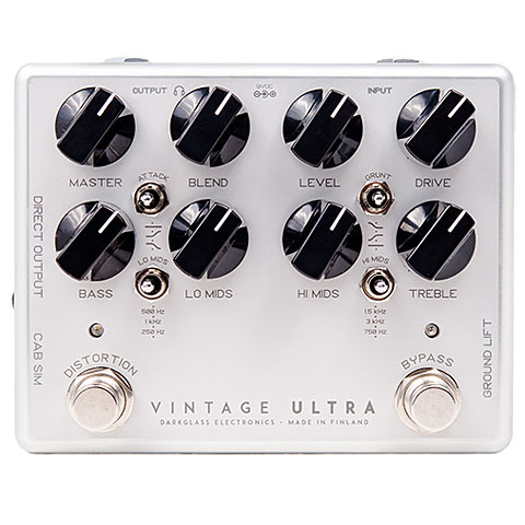 Pedal bajo eléctrico Darkglass Vintage Ultra V2 (Aux-In)