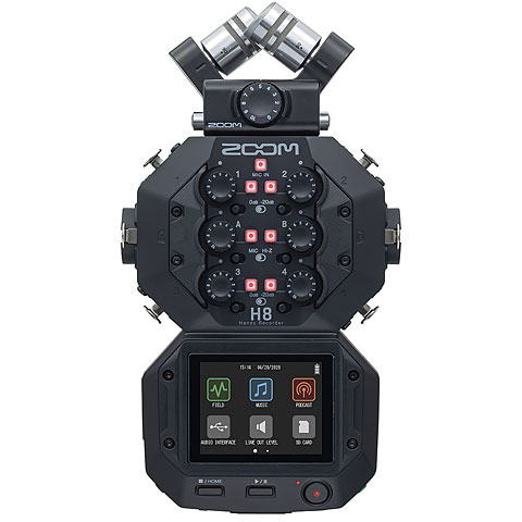 Digital Audio Recorder Zoom H8