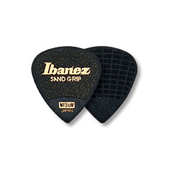 Ibanez Grip Wizard PPA16HSG-BK Sand Flat Pick 6 Pack 1 mm « Médiators