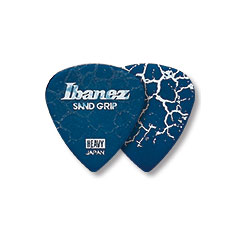 Ibanez Flat Pick Rubber Grip Blue 1,2 mm X-Heavy « Médiators