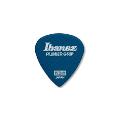 Ibanez Flat Pick Rubber Grip blue 1mm « Plektrum