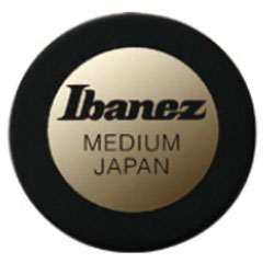 Ibanez Round Pick PPA1M-BK Black 0,8 mm « Médiators