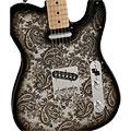 Guitarra eléctrica Fender Black Paisley Tele Special Edition
