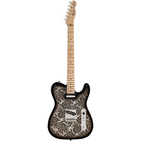 Fender Black Paisley Tele Special Edition « Guitare électrique