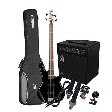 E-Bass Set Ibanez Gio GSR180 BK/ Ampeg BA-108