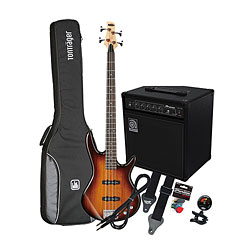 Ibanez Gio GSR180 BS/ Ampeg BA-108 « Bass Guitar Set
