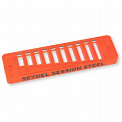 C.A. Seydel Söhne Comb Plastic Blues Session Steel - Orange « Pieza de recambio de armónica