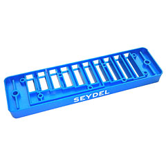 C.A. Seydel Söhne Comb Plastic Blues Session Steel - light blue « Pieza de recambio de armónica