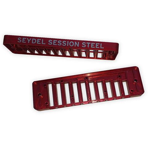 Ersatzteil Mundharmonika C.A. Seydel Söhne Comb Plastic Blues Session Steel - Copper