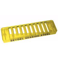 C.A. Seydel Söhne Comb Plastic Blues Session Steel - Translucent Lemon « Ersatzteil Mundharmonika