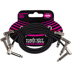 Ernie Ball EB6222 flach 30 cm 3er Pack « Cable para patch