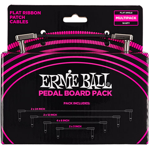 Cable para patch Ernie Ball EB6224 Multi Pack
