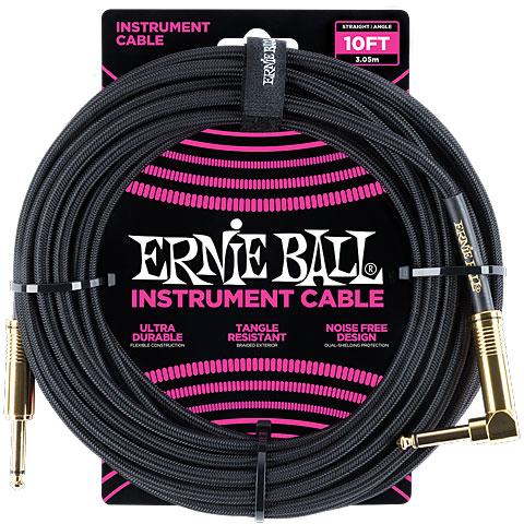 Cable instrumentos Ernie Ball EB6081 Black 3,0 m