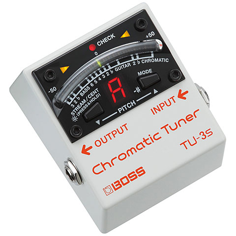 Accordeur Boss TU-3S Chromatic Tuner