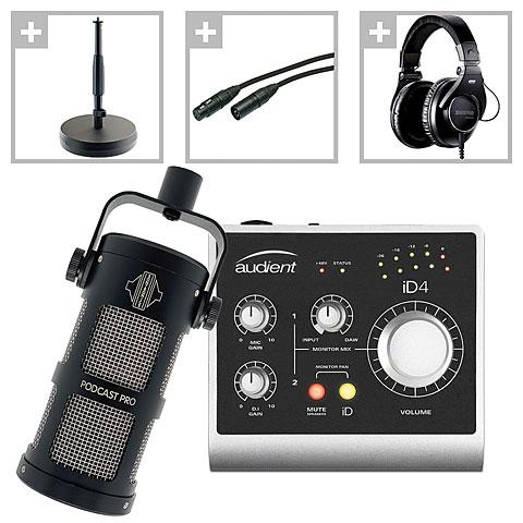 Audio Interface Musik Produktiv Podcast Set