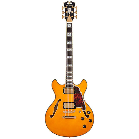 Electric Guitar D'Angelico Excel Mini DC NAT