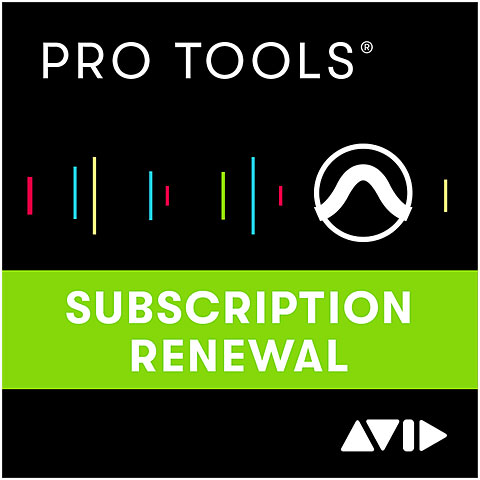 DAW-Software Avid Pro Tools Renewal ESD